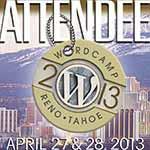 Attending Reno-Tahoe WordCamp
