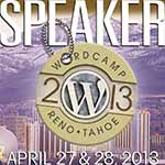 Speaking at Reno-Tahoe WordCamp
